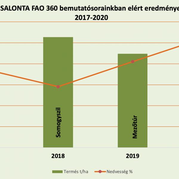 Salonta eredmények